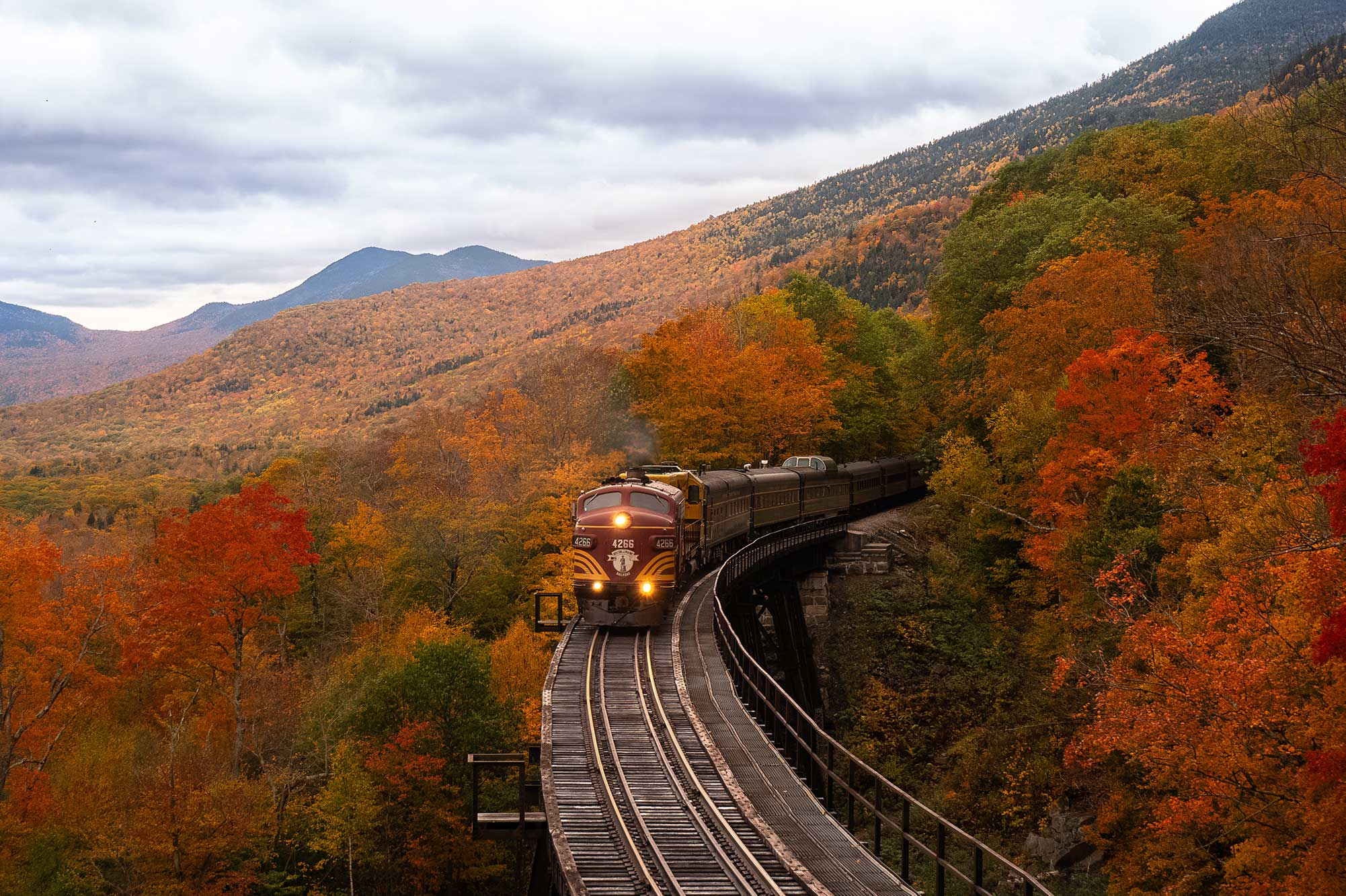 New Hampshire in Fall