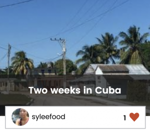 Two Weeks in Cuba Trip