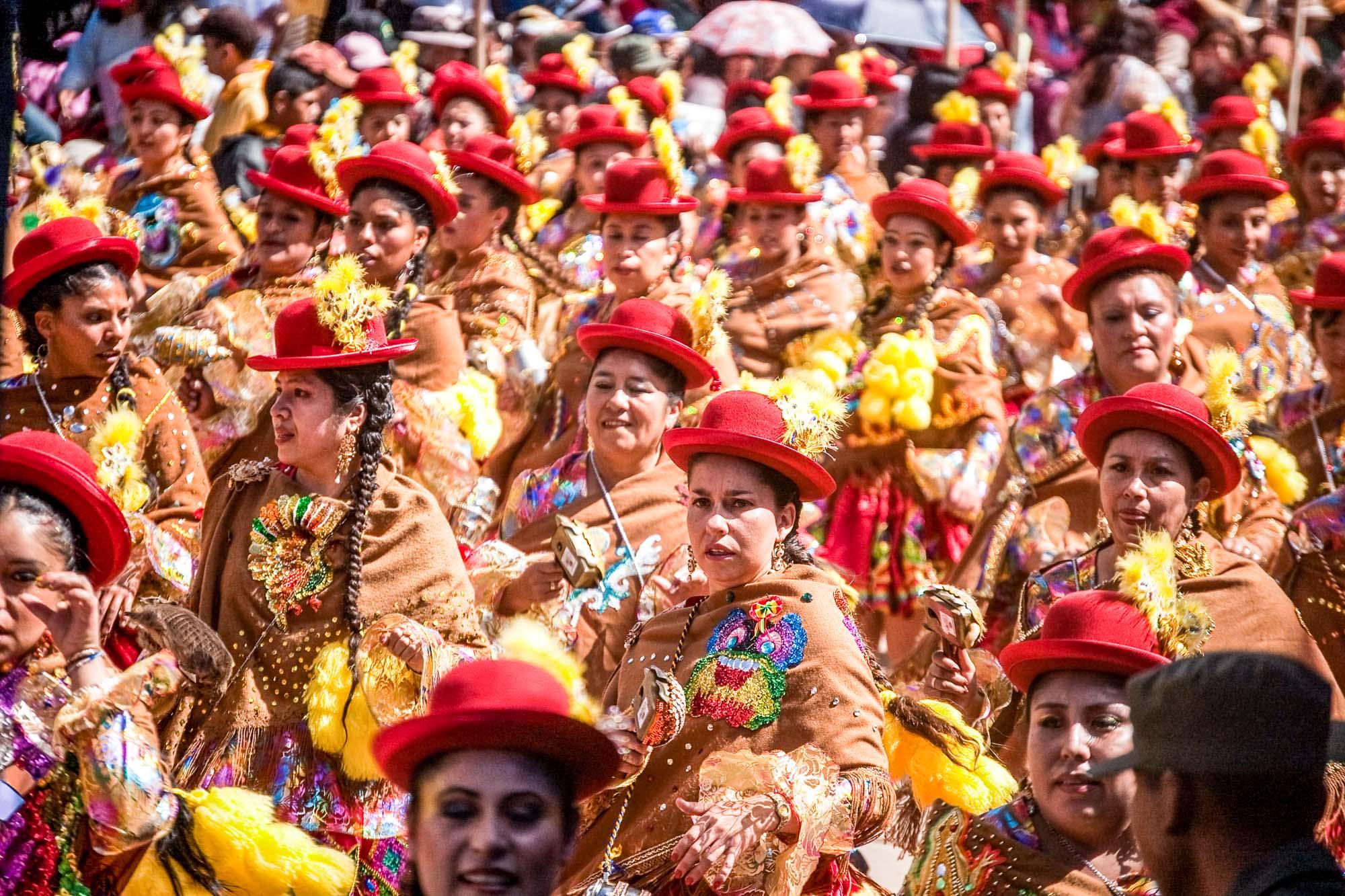 Carnival 2009 in Oruro Bolivia