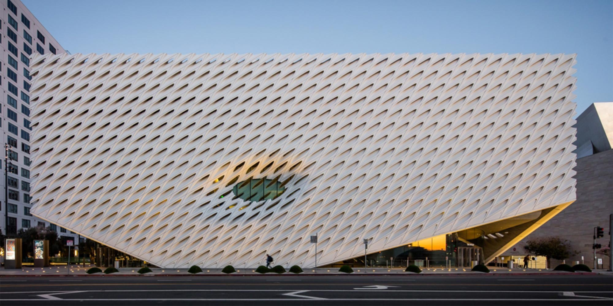 The Broad Museum in Los Angeles, courtesy of The Broad Museum.
