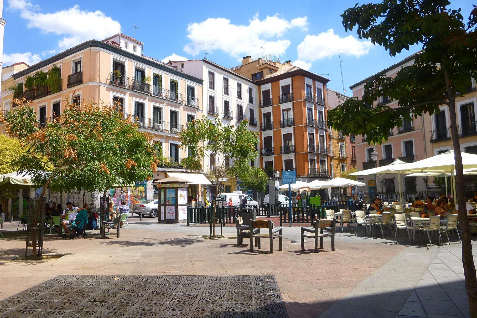 Malasaña Plaza Juan Pujol